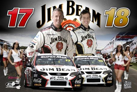 Jim Beam Racing 2009 Team 1000pc