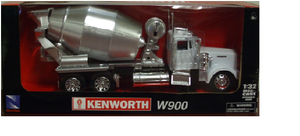 Kenworth W900 Cement Truck (White)