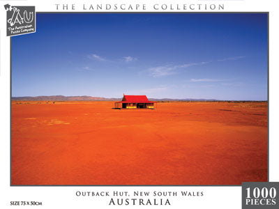 Outback Hut, NSW, 1000pc