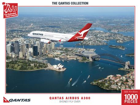 Qantas Airbus A380 Sydney Fly Over