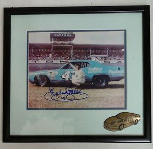 Richard Petty Framed Autograph 8