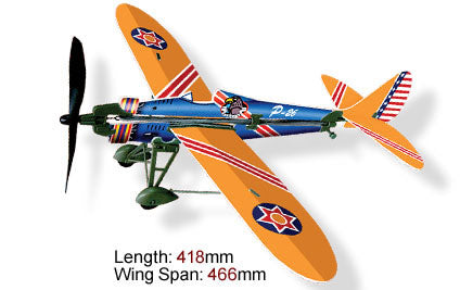 Rubber Band Powered History Monoplanes P-26