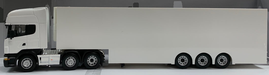1:50 Scania Prime Mover & Race Trailer