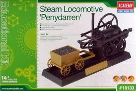 "Steam Locomotive ""Penydarren"" Model Kit"