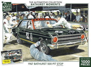 The Bathurst Collection - 1967 Bathurst 500 Pit Stop 1000pc
