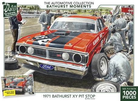 The Bathurst Collection - 1971 Bathurst XY Pit Stop 1000pc