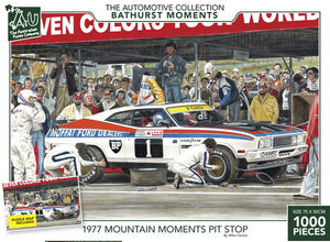The Bathurst Collection - 1977 Mountain Moments Pit Stop 1000pc
