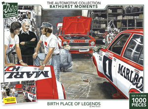The Bathurst Collection - Birth Place of Legends 1000pc