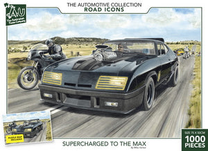 The Road Icon Collection - Supercharged to the Max 1000pc