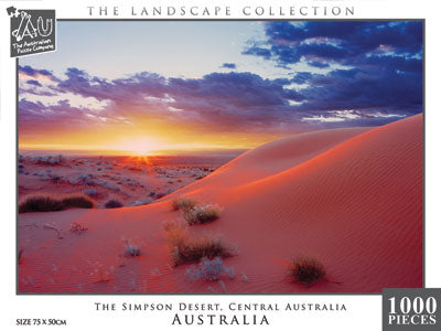 The Simpson Desert, Western Australia, 1000pc