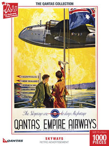 The Skyways are Today's Highways Retro Advertisement