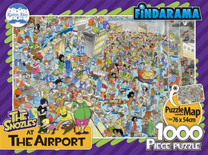 The Snozles at the Airport 1000pc