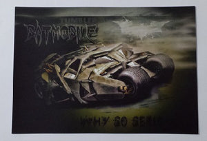 1966 Classic Batman Atomic Batteries to Power A3 Poster