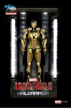 1:9 Iron Man 3 - Hall Of Armor - Mark XXI Figurine