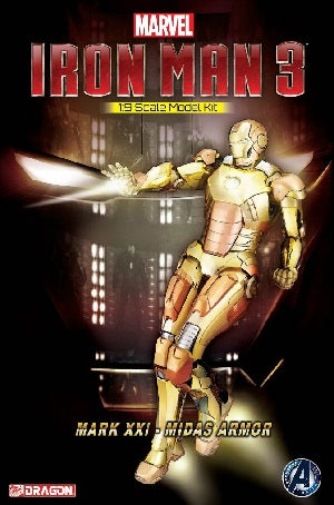 1:9 Iron Man 3 - Mark 21 - Midas Armor Model Kit