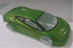 1:10 Himoto Body Shell - Green