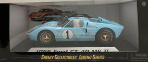 1:18 Ford Shelby 1966 GT40 MK II Gulf Blue #1 (Clean)