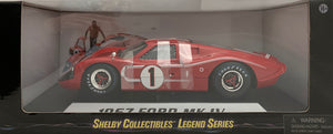 1:18 Ford Shelby 1967 MK IV (Red) #1