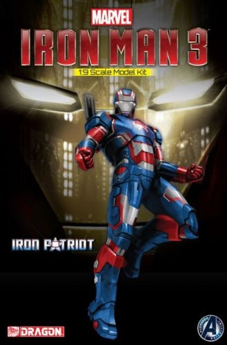 1:9 Iron Man 3 - Iron Patriot Model Kit Figurine