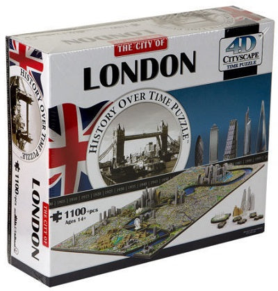 4D CITYSCAPE TIME PUZZLE LONDON 1100+ pieces