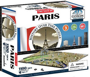 4D CITYSCAPE TIME PUZZLE PARIS 1100+ pieces