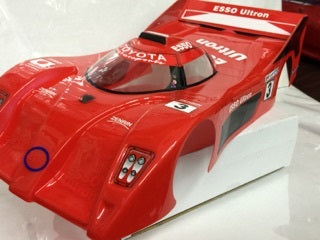 1:10 Toyota GT Racing Body Shell - Red