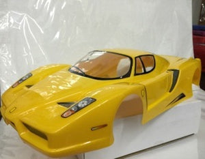 1:10 Body Shell - Ferrari Yellow