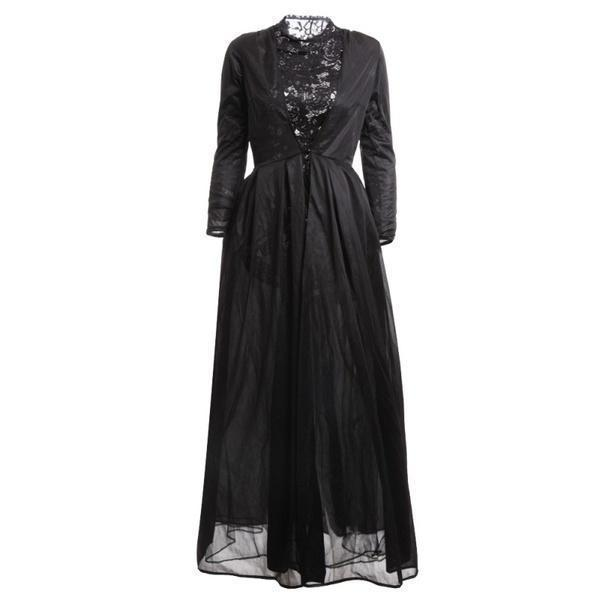 Black Gothic Lace Dress