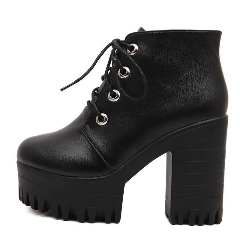 Gothic High Heel Women's Shoes