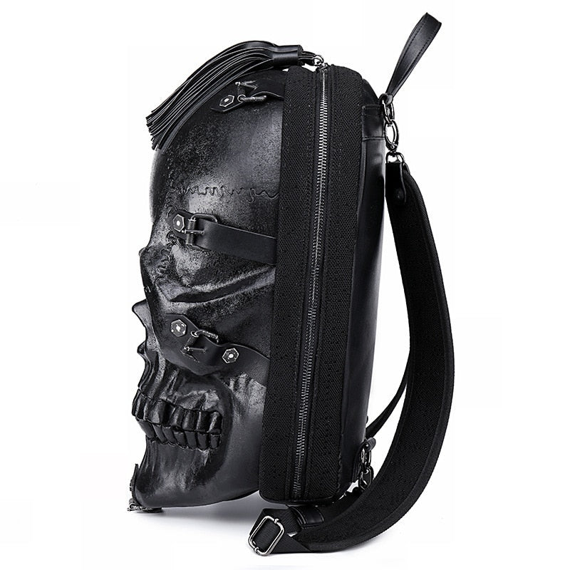 Real Darkness Skull Backpack