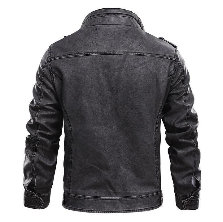 Real Darkness Leather Jacket