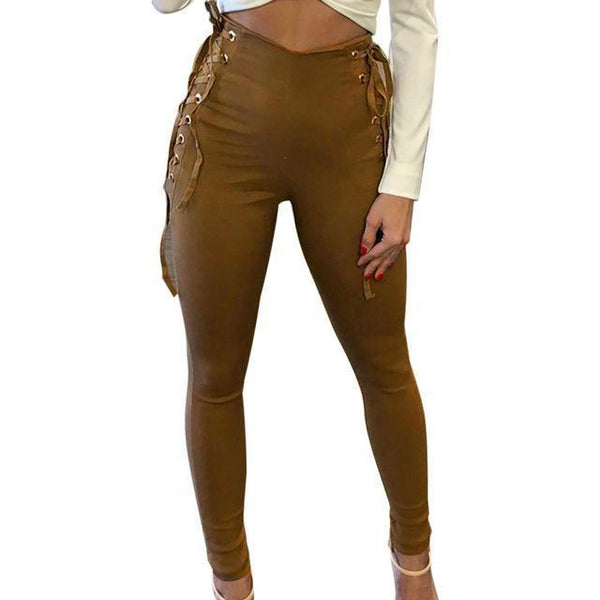 Skinny High Waist Gothic Leggings