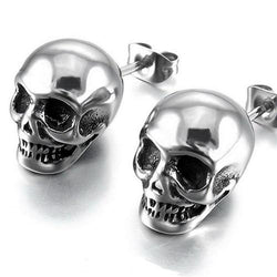 Unisex Skull Earrings