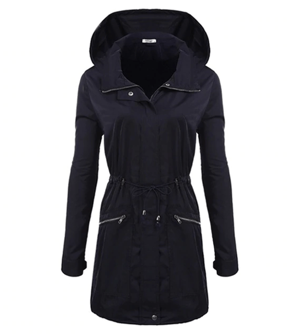 Hooded Long Women's Coat