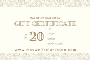 Maxwell's Clarkston - £20 Gift Card - Maxwell's Clarkston