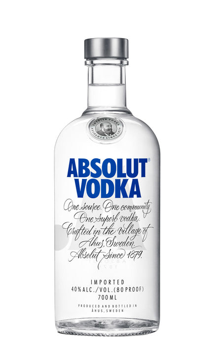 Absolut Vodka Blue 70cl - Maxwell's Clarkston