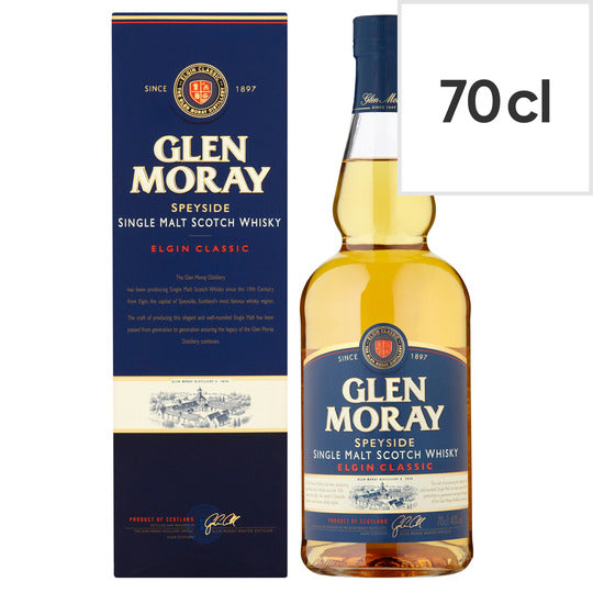 Glen Moray Single Malt  70cl