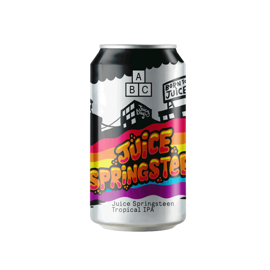 Alphabet Brewing Juice Springsteen Tropical IPA 330ml - Maxwell's Clarkston