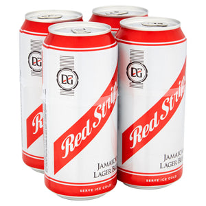 Red Stripe Jamaica Lager Beer 4 x 440ml Cans - Maxwell's Clarkston