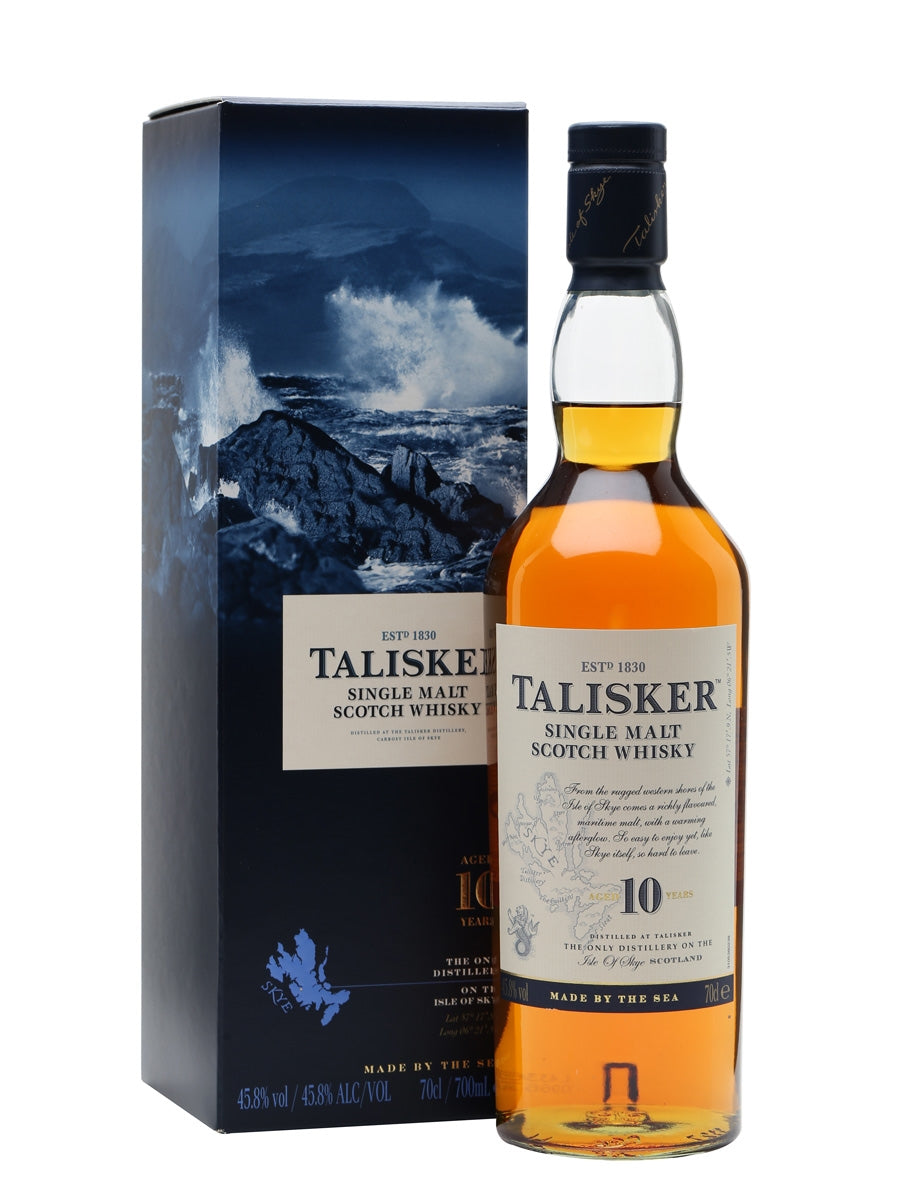 Talisker 10 Year Old 70cl - Maxwell's Clarkston