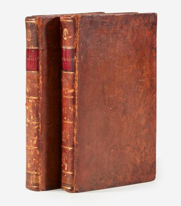 Rare Second Edition 1802 Printing of The Federalist Now Available for Purchase