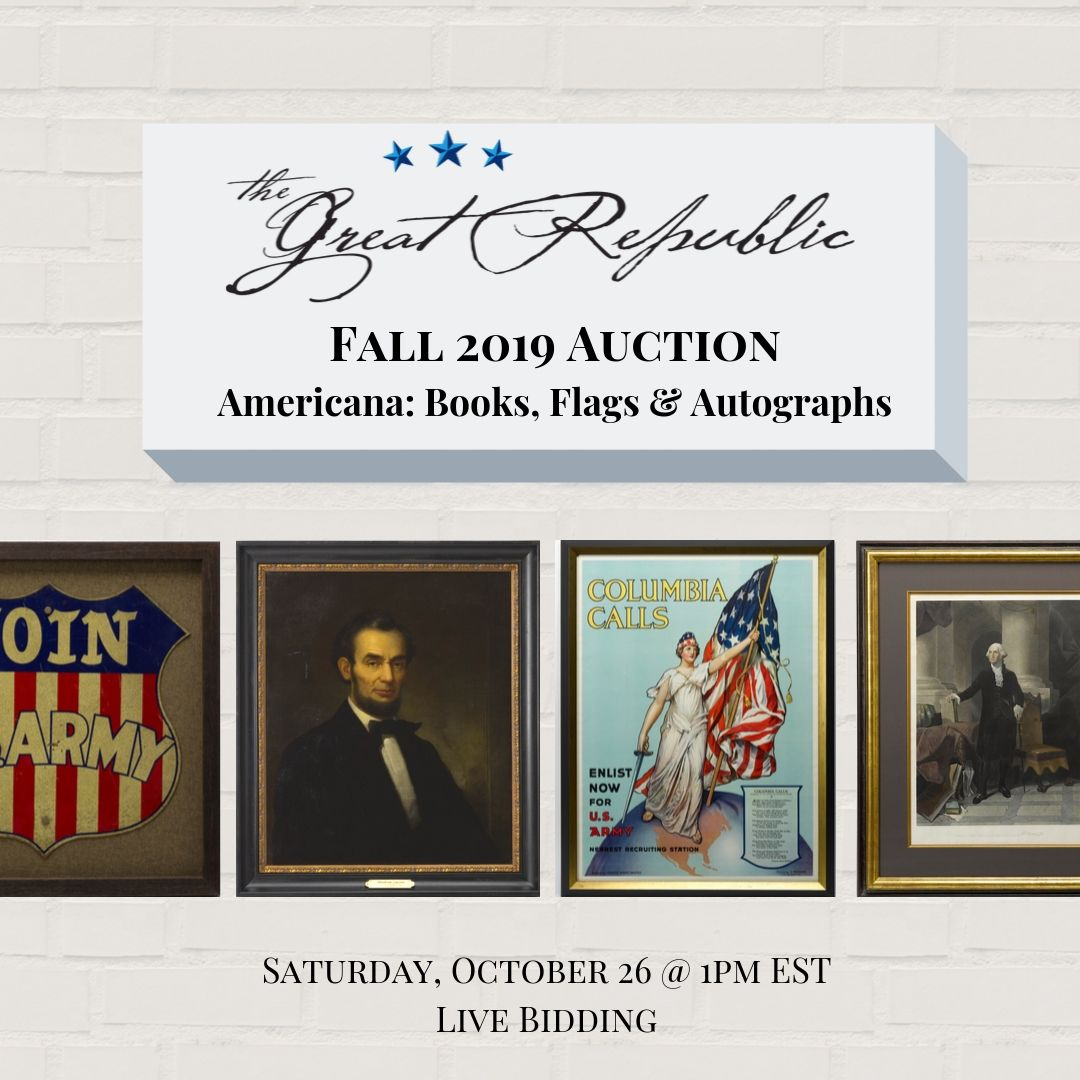 Introducing Our Fall 2019 Auction