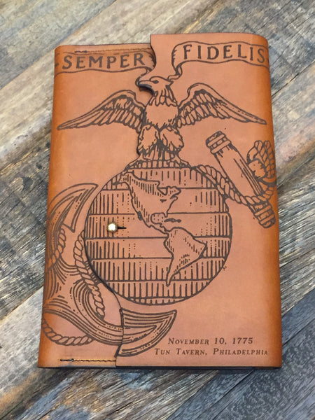 Semper Fi: Our U.S. Marine Corps Leather Journals