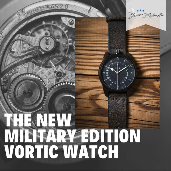 Collaborating with American Crafters: Vortic Watch Company