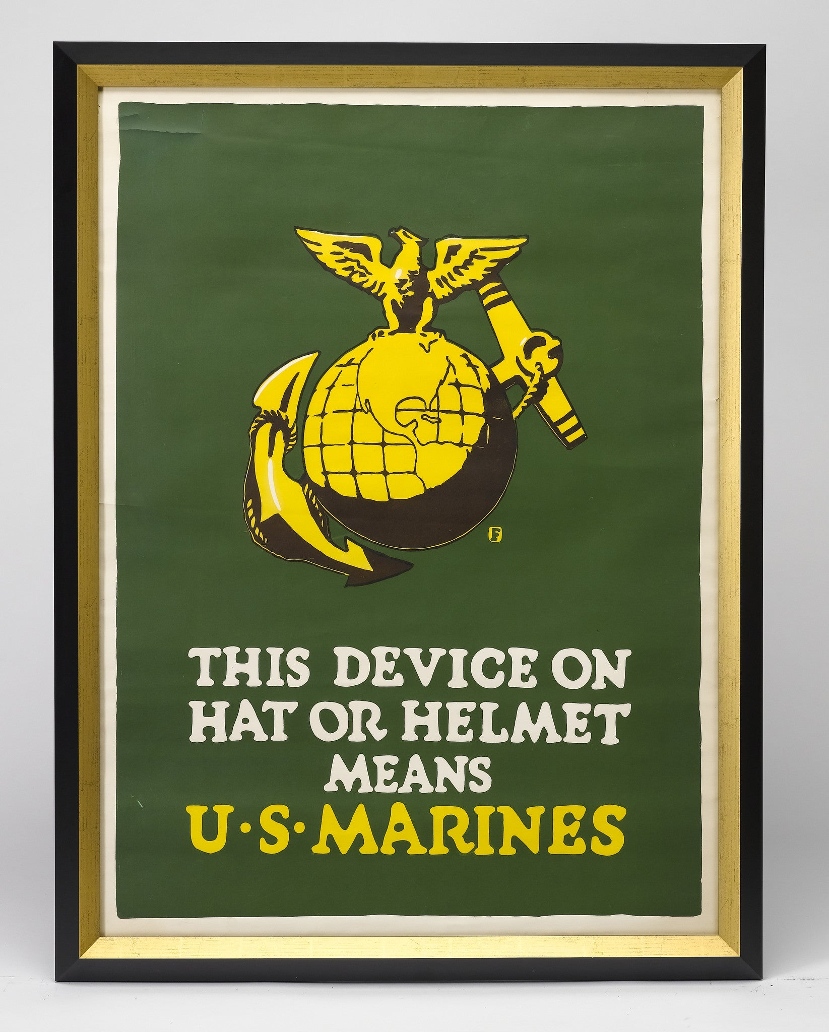 Semper Fidelis: WWI Marines Poster Added To DC Shop Walls