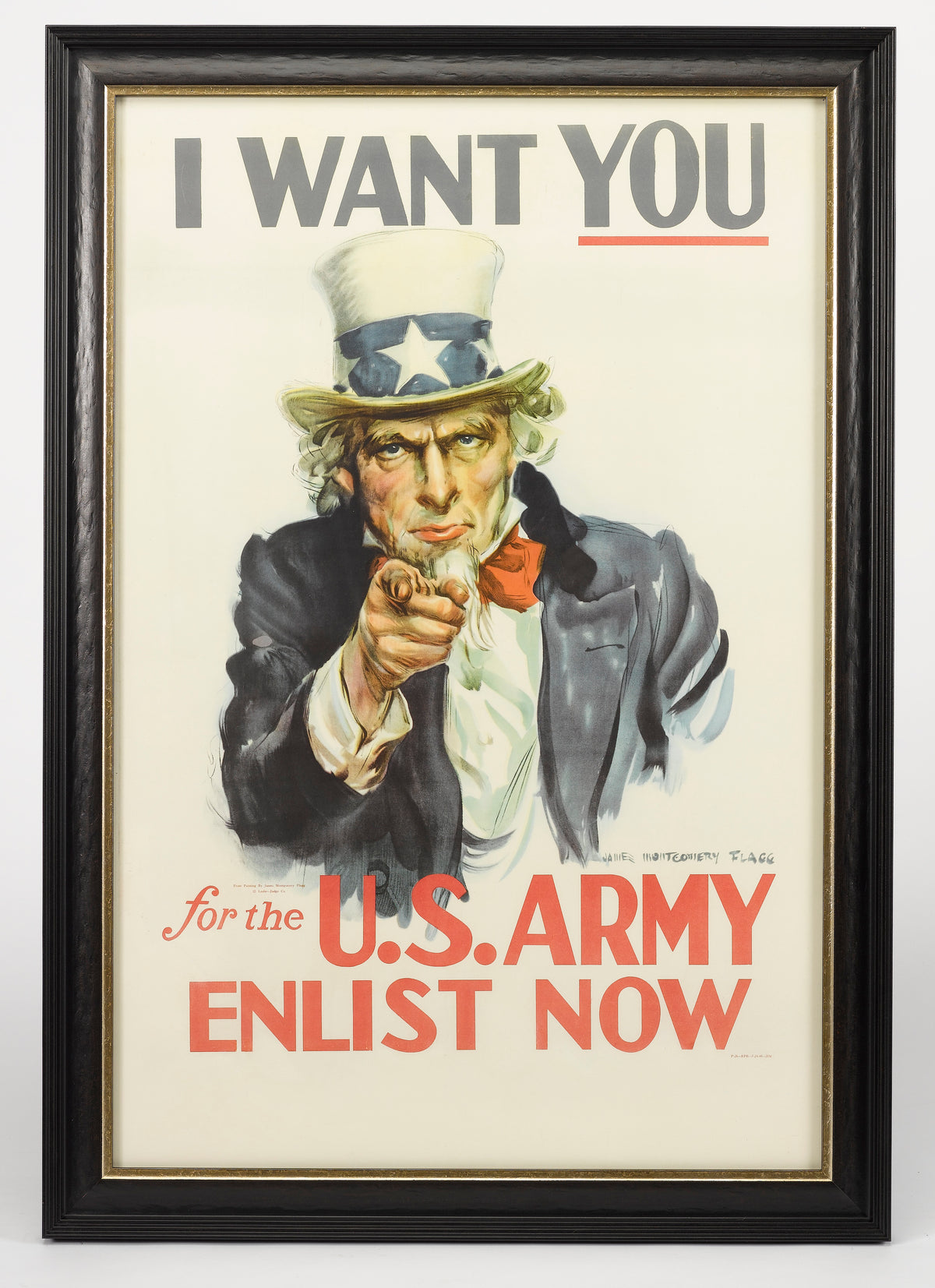 """I Want YOU!"" -  James Montgomery Flagg"