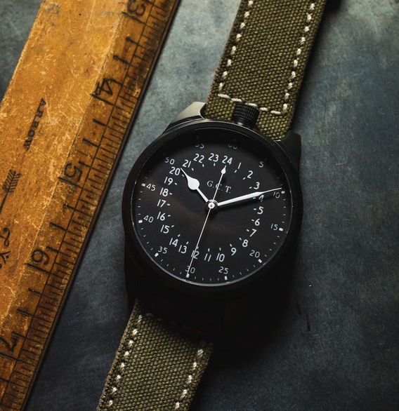 The Vortic Military Edition Watch
