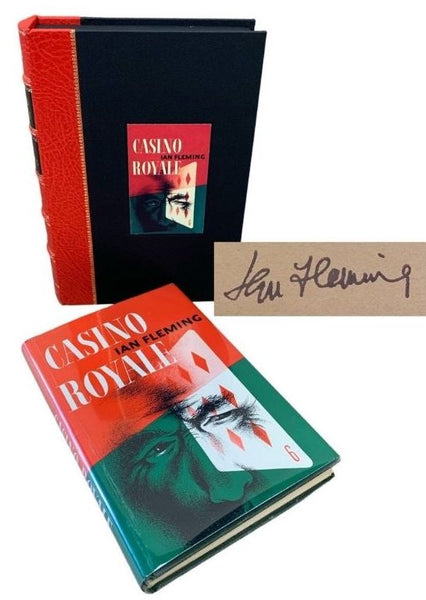 James Bond First Editions, Signed!