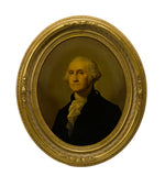 19th Century George Washington Chromolithograph Portrait