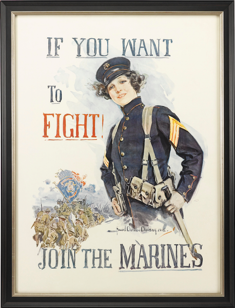If you want to fight/Join the Marines